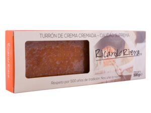 Turrón Artesano de Crema Cremada 500 grs