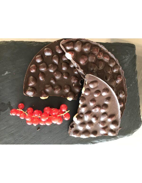 Tortas chocolate 70% Avellanas