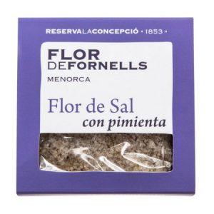 FLOR DE FORNELLS CON PIMIENTA