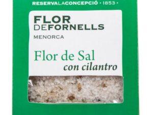 FLOR DE FORNELLS CON SEMILLAS DE CILANTRO