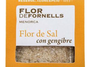 FLOR DE FORNELLS CON JENGIBRE