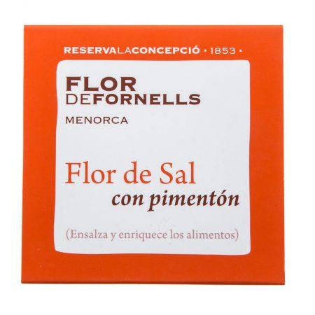 FLOR DE FORNELLS CON PIMENTÓN DE LA VERA