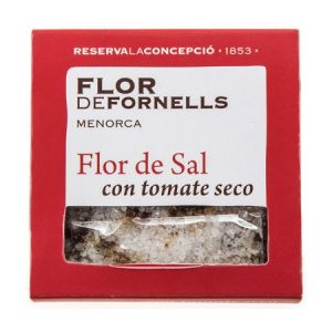 FLOR DE FORNELLS CON TOMATE SECO