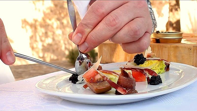 Castillo de Canena AOVE con el Chef Jeremy Cayron