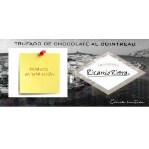 Turrón trufado de chocolate al Cointreau