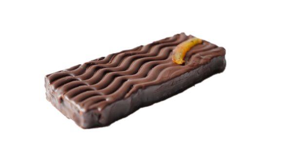 Turrón trufado de chocolate al Cointreau 4