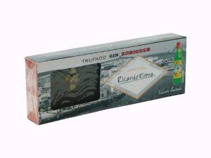 Turrón Trufado de chocolate al Xoriguer