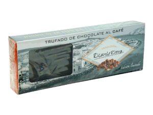 Turrón trufado de chocolate al café