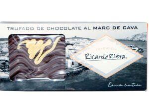 Turrón trufado de chocolate al Marc de Cava